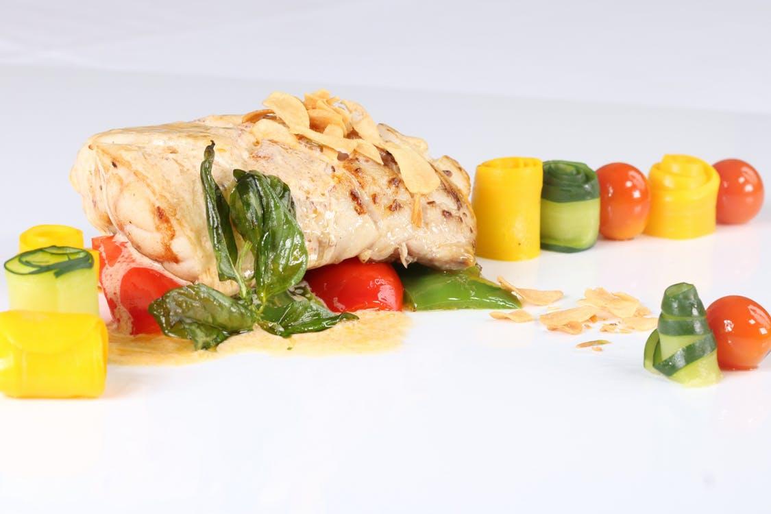 comida saludable hecha en papillote