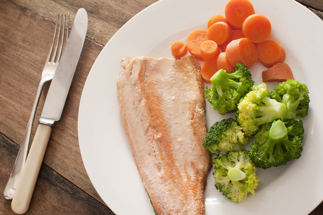 pescado con verdura menusapiens