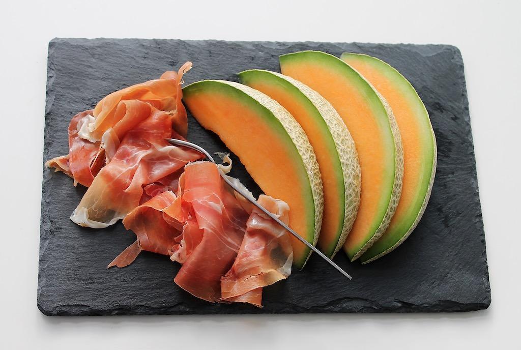 Jamon-Melon-Aperitivo-Sano