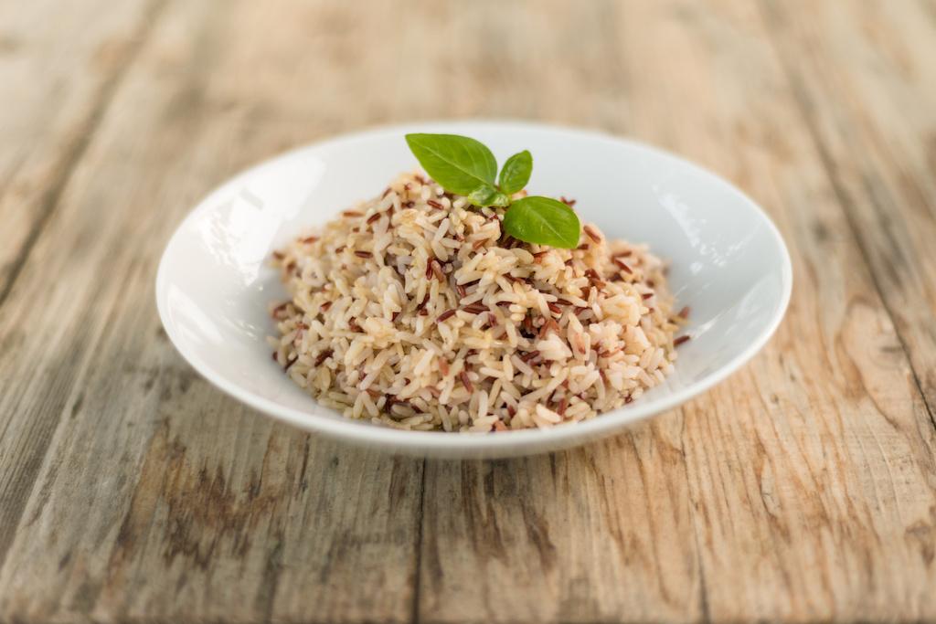 arroz integral para adelgazar
