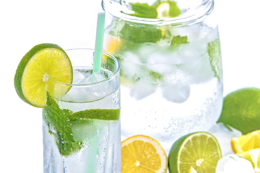 limonada en el menu del brunch