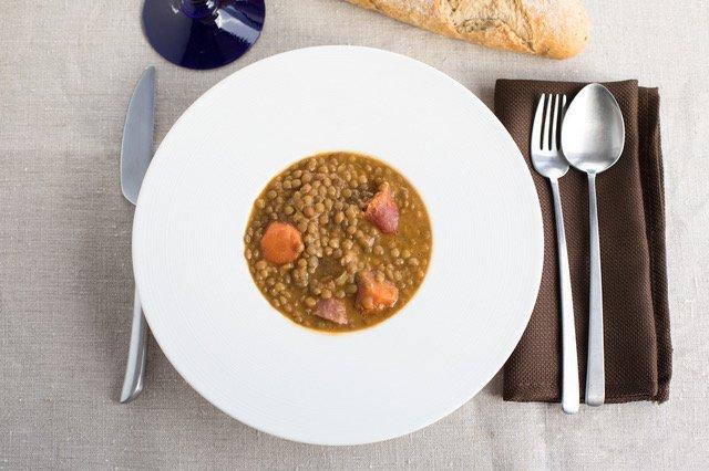 lentejas, plato tradicional saludable