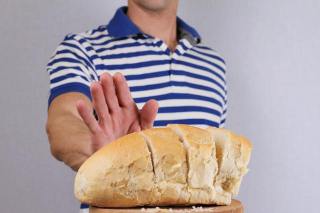 intolerancia al pan
