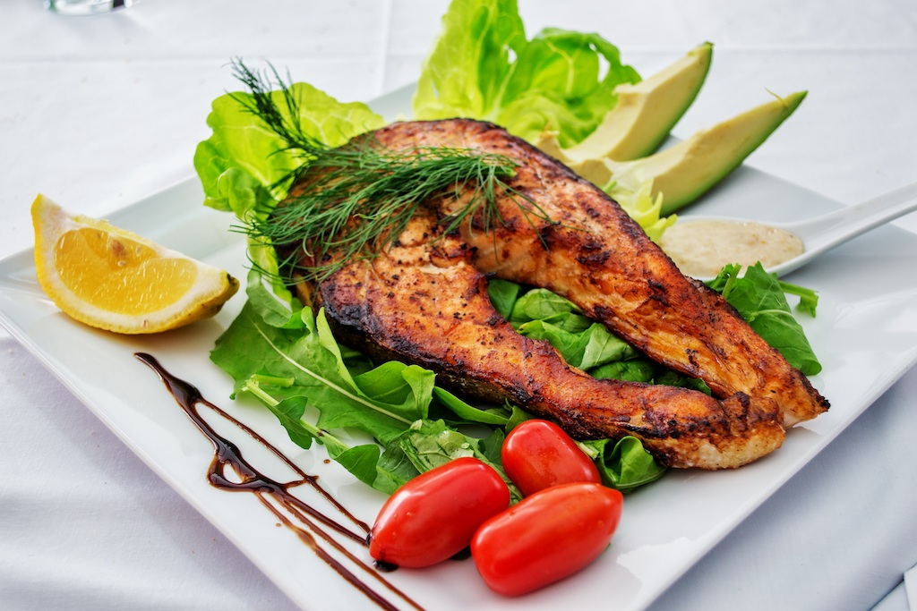 menu diario sana en restaurante