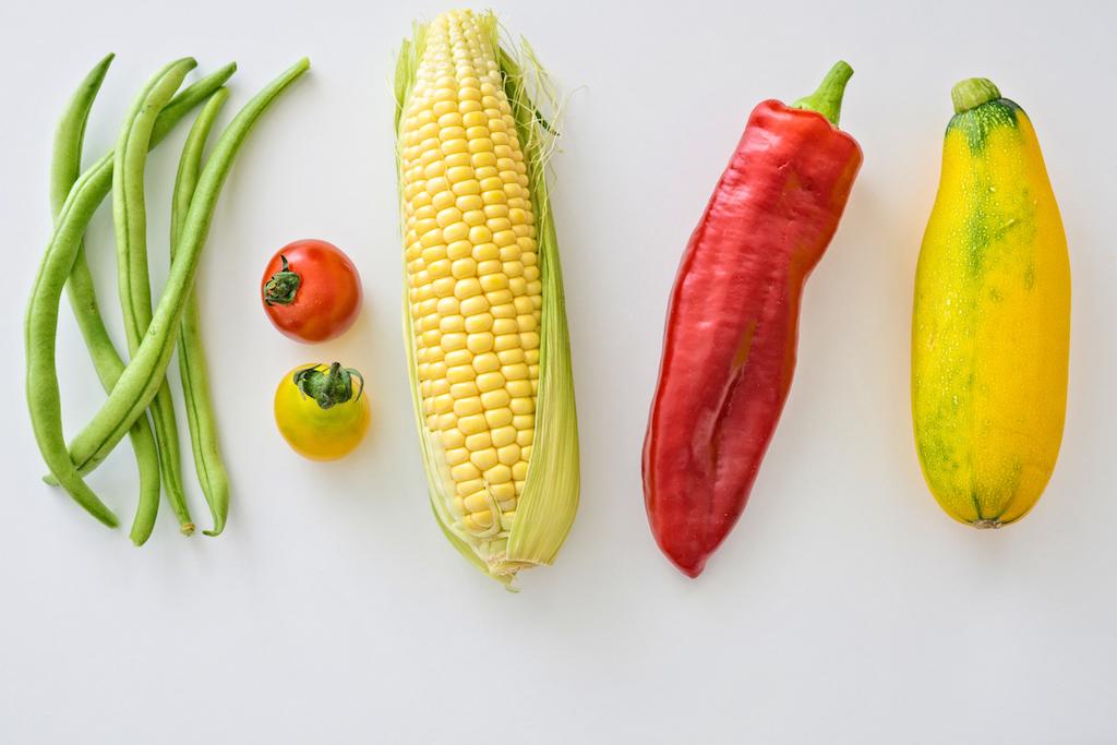 alimentos sanos en el menu semanal