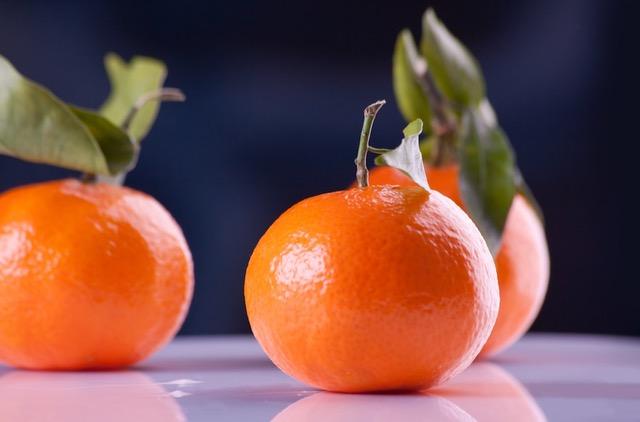 mandarinas fruta otoñal