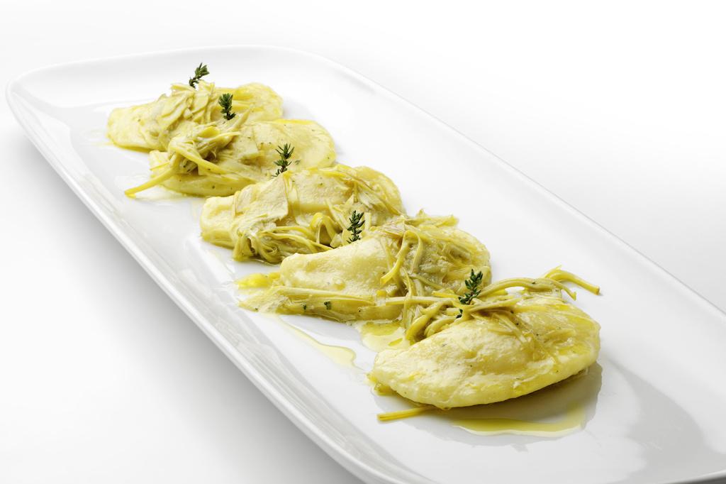 plato de ravioli