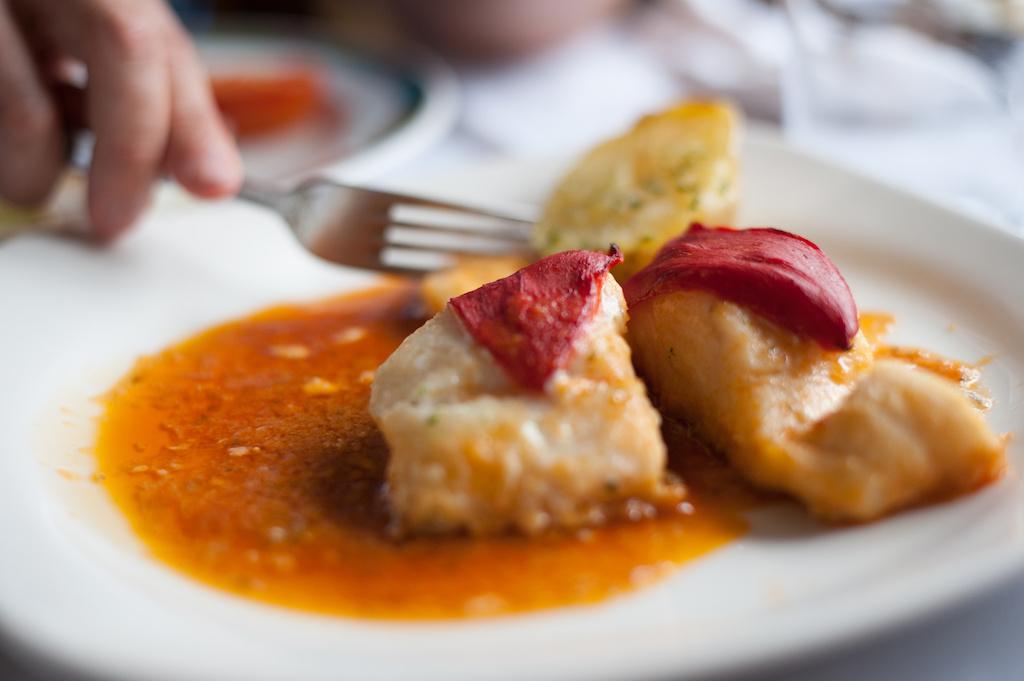 plato de restaurante de madrid