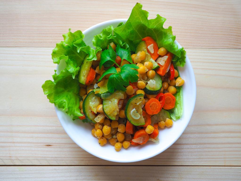 lunch vegano