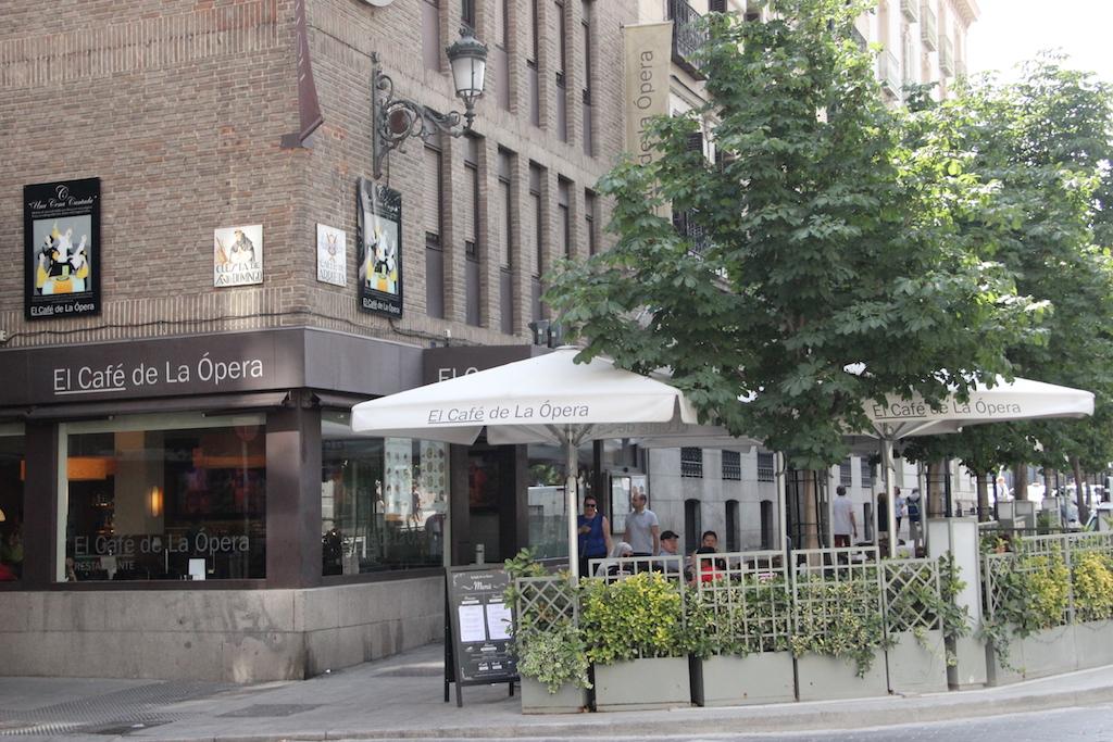Café de la Ópera en Madrid