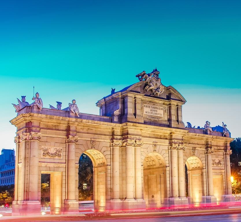 Puerta de Alcalá en Madrid